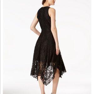 Black lace handkerchief dress -  US 14